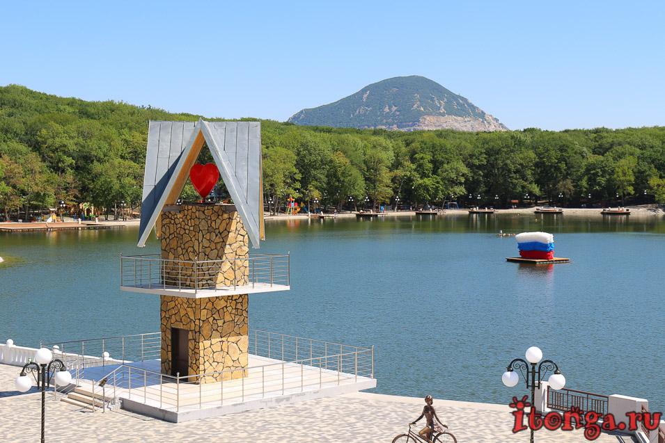 горы Железноводска, 30 лет Победы, гора змейка, курортное озеро