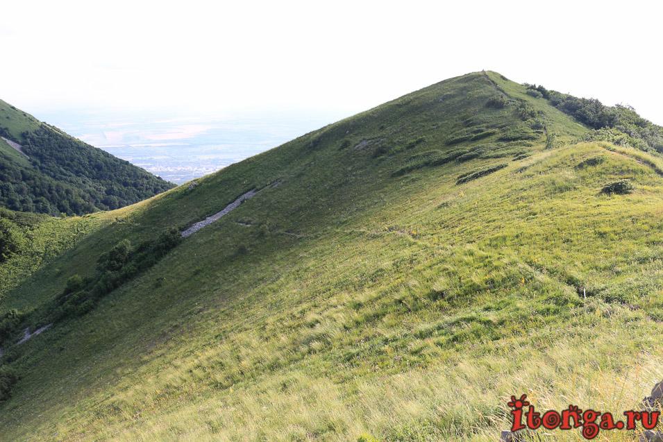 восхождение на Бештау, КМВ, Кавказ, подъём на Малый Тау