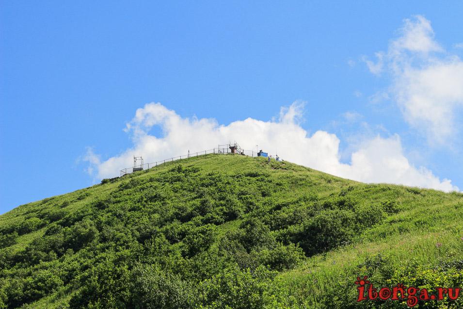 вершина Бештау, подъём на гору, Большой Тау
