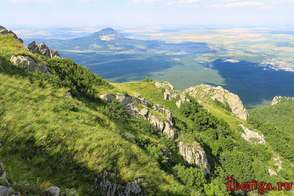 подъём на Бештау, восхождение на вершину