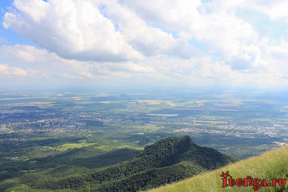 вершина Бештау, восхождение на гору