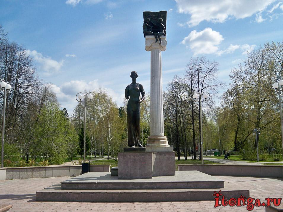 памятник, томск, ново-соборная площадь