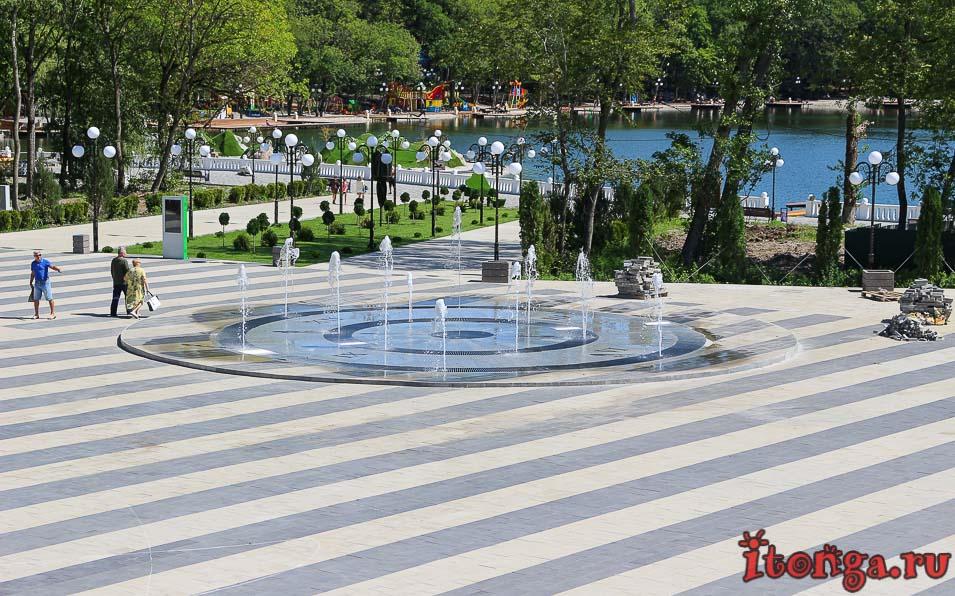 озеро в Железноводске, Феррум площадь