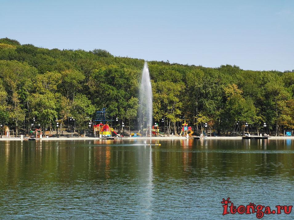 фонтан на озере 30 лет Победы, Железноводск