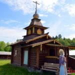 Казачий острог в Семилужках (Томская область)
