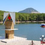 Курортное озеро в Железноводске и Феррум площадь