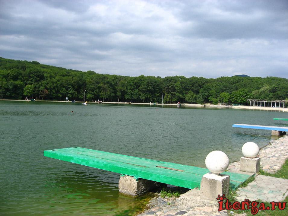 озеро в Железноводске до реконструкции