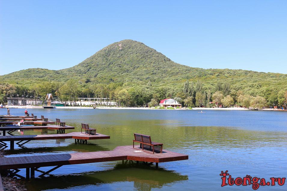 гора Железная, курортное озеро, Железноводск