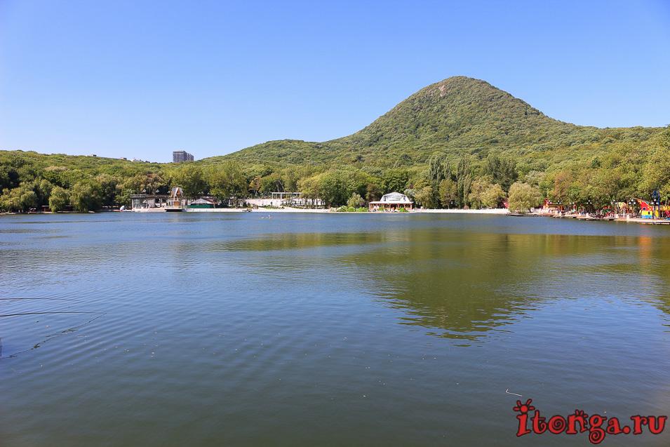 озеро в Железноводске, гора Железная