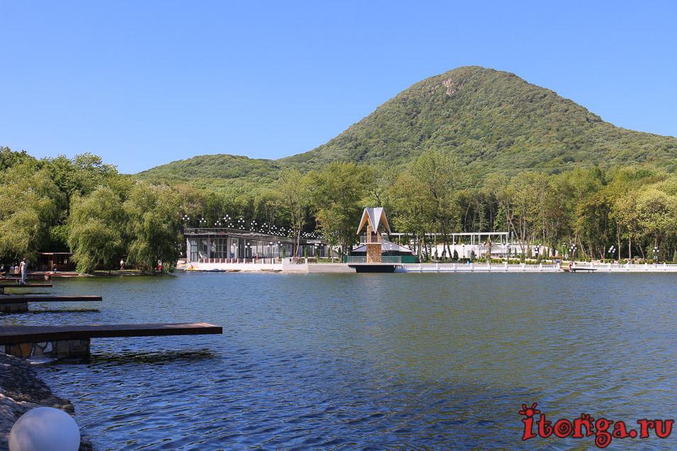 Железноводское озеро, гора Железная
