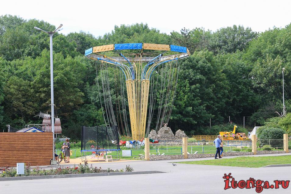 достопримечательности Железноводска, парк Говорухина