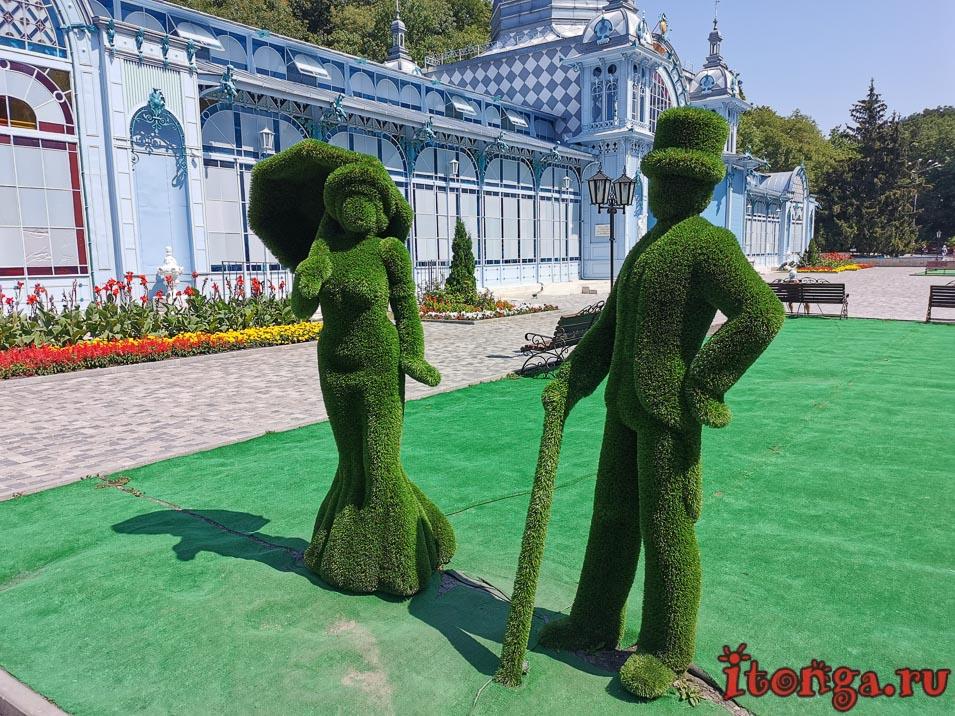 парк в Железноводске, Пушкинская галерея