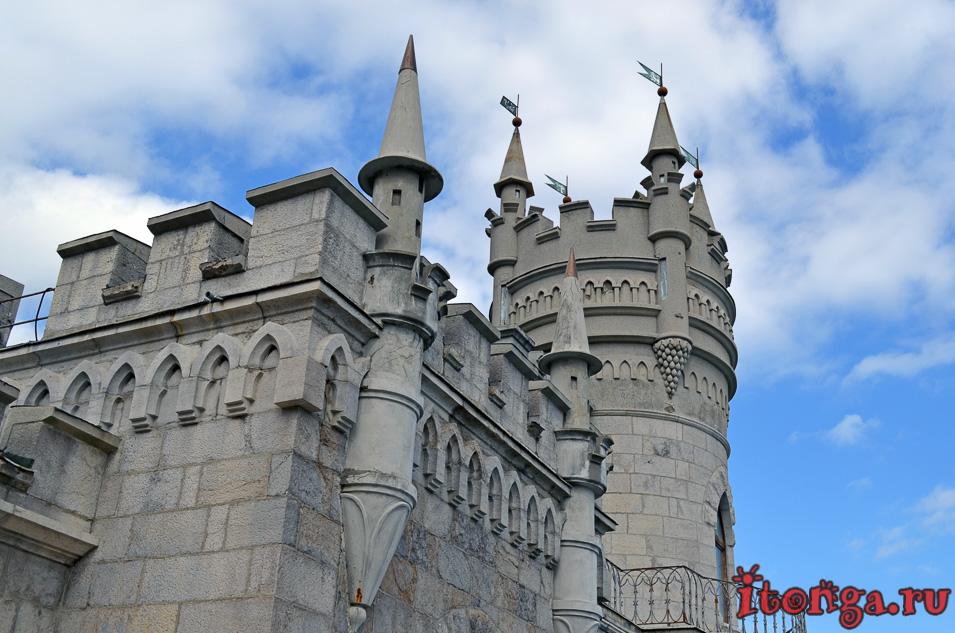 ласточкино гнездо в крыму, замок, ялта, гаспра