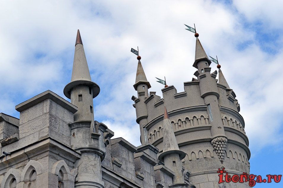 замок, крым, ялта