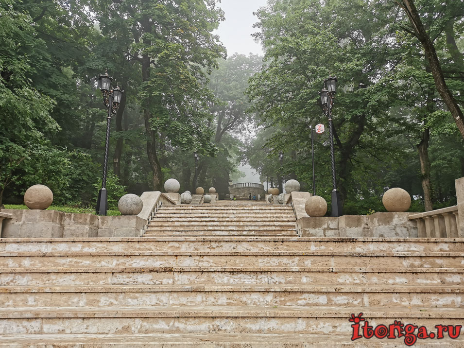 вход в парк Железноводска
