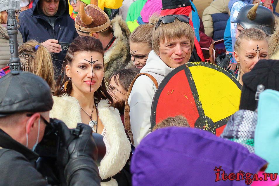 Grelka Fest, Шерегеш, карнавал, викинги
