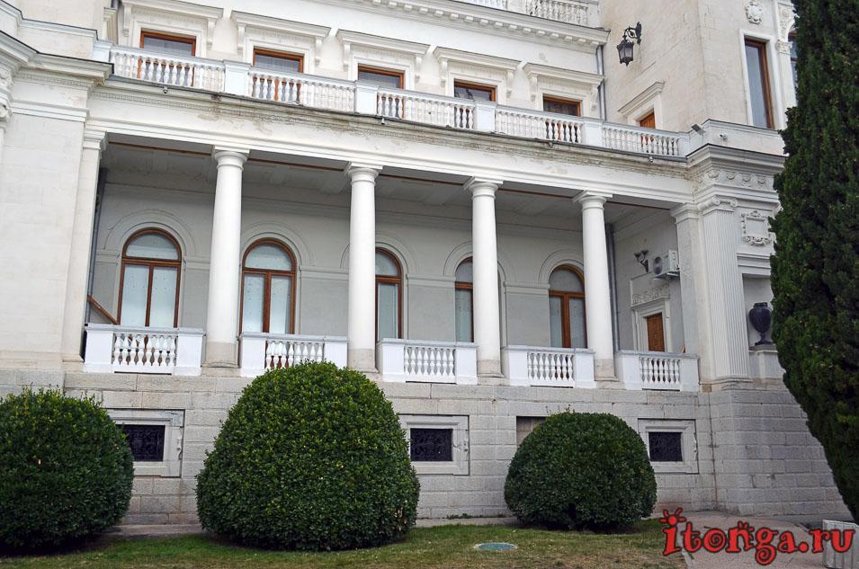 ливадийский дворец, крым, ялта, достопримечательности