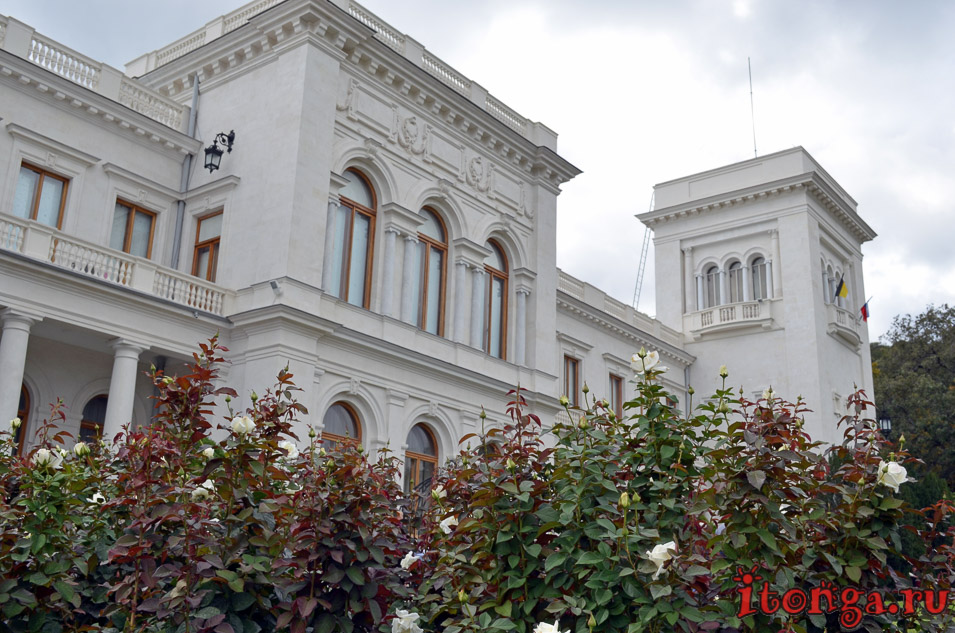 ливадийский дворец, парк, крым