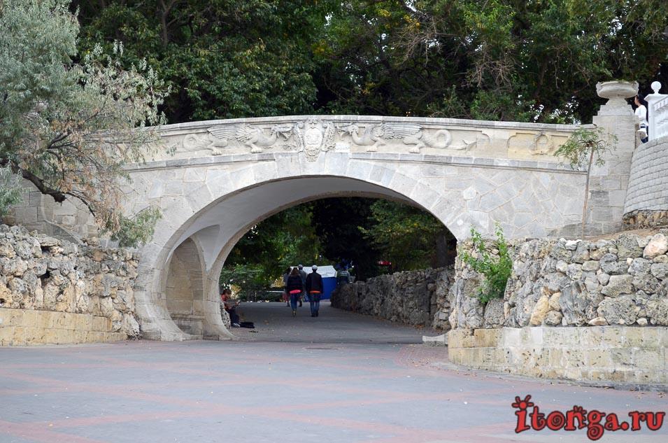набережная севастополя, мост