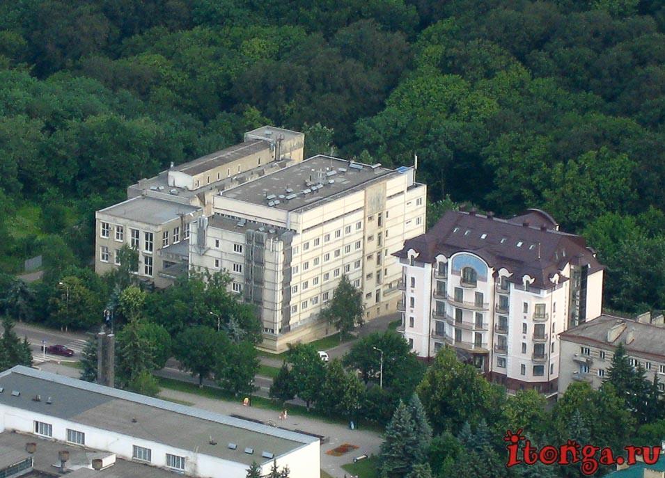 лечение в Железноводске, водолечебница, отдых на курорте