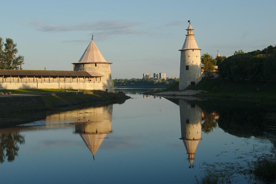 куда поехать отдохнуть в России в августе, Псков