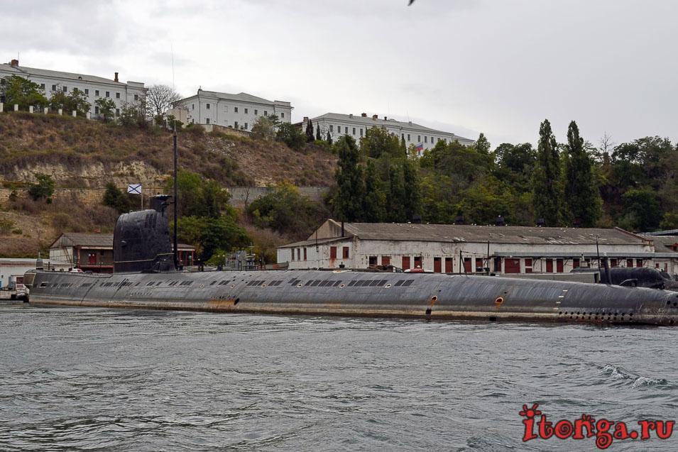 военные корабли севастополя, крым, морская прогулка