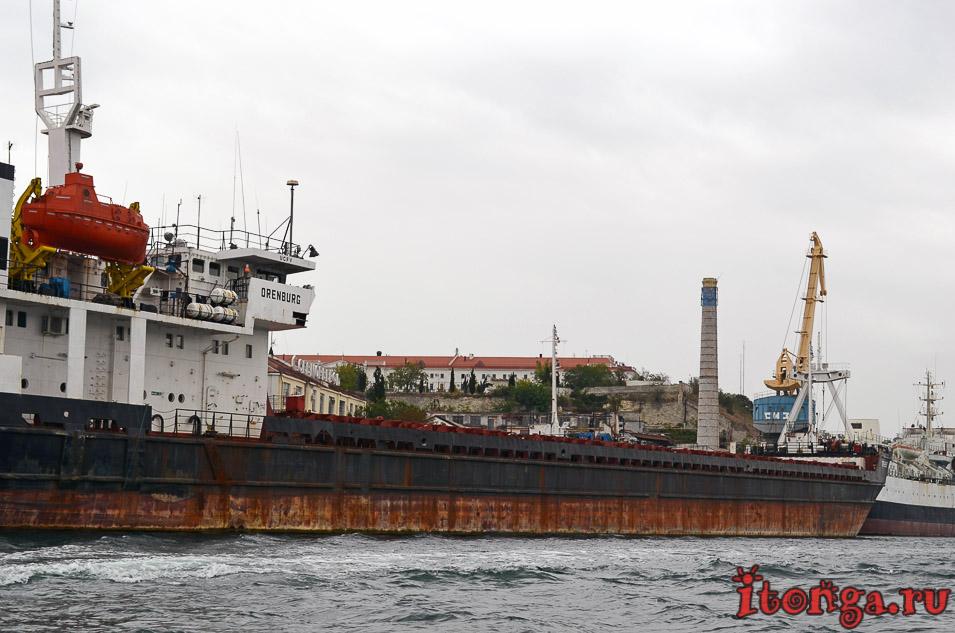 военные корабли севастополя, крым, бухта