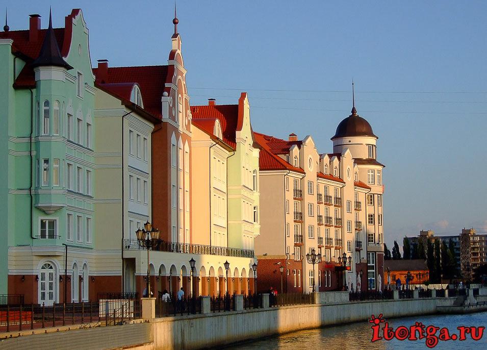куда поехать отдохнуть в России в августе, Калининград