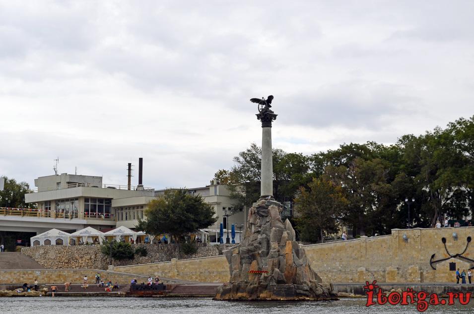 памятник затопленным кораблям, севастополь, крым