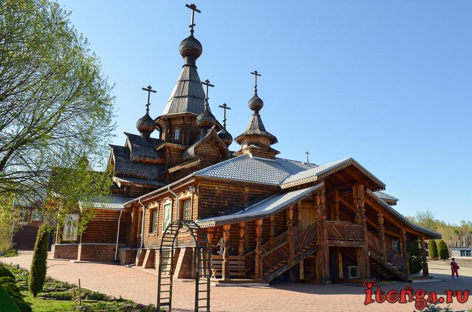 храм иоанна воина в новокузнецке , архитектура