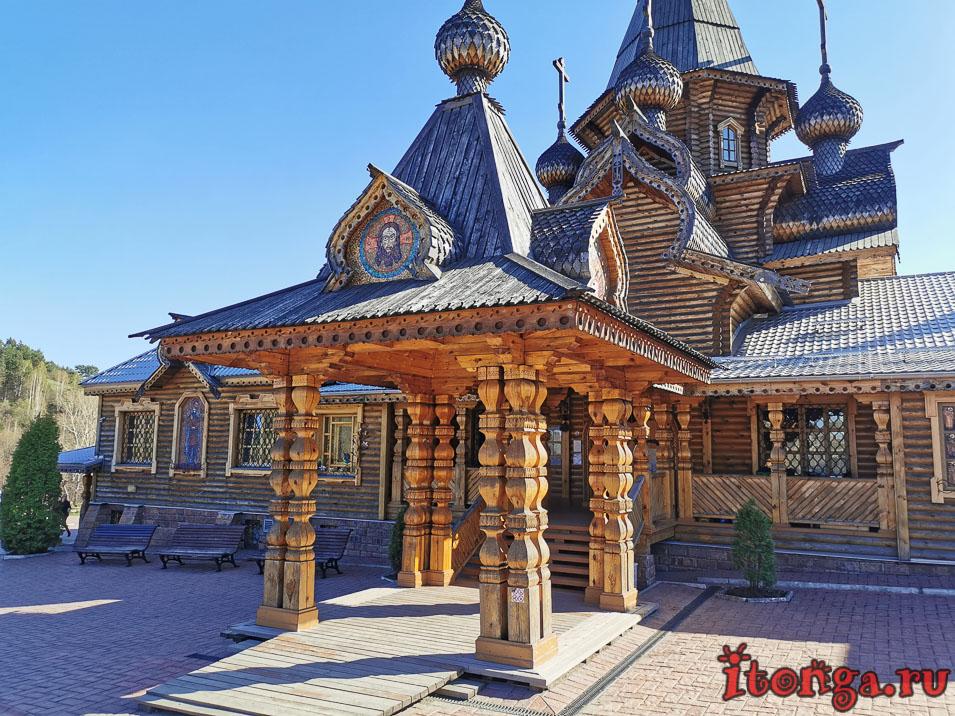 храм иоанна воина в новокузнецке, деревянная архитектура