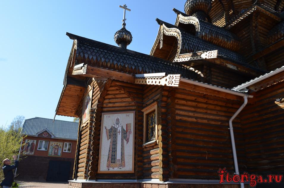 храм иоанна воина в новокузнецке, иконы