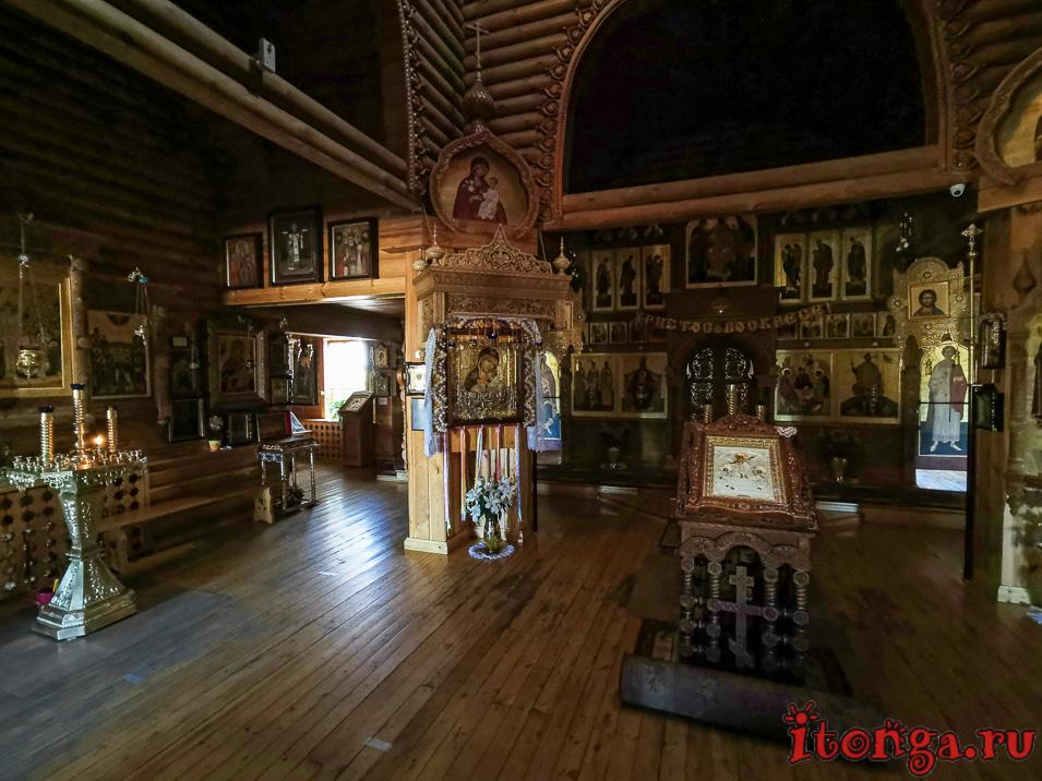 храм Иоанна воина в новокузнецке, икона