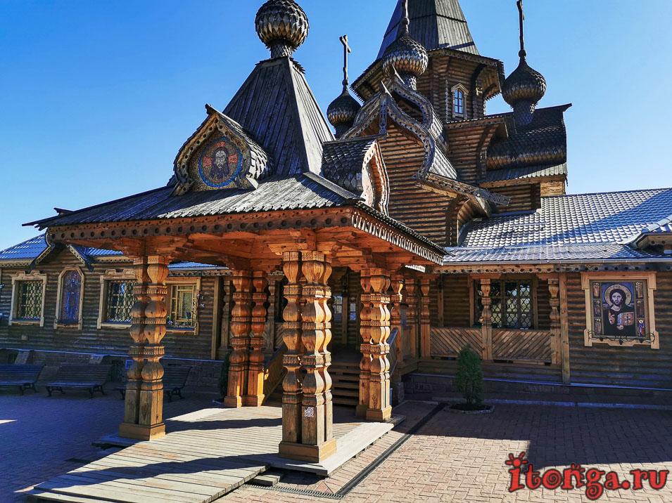 храм иоанна воина в новокузнецке, архитектура