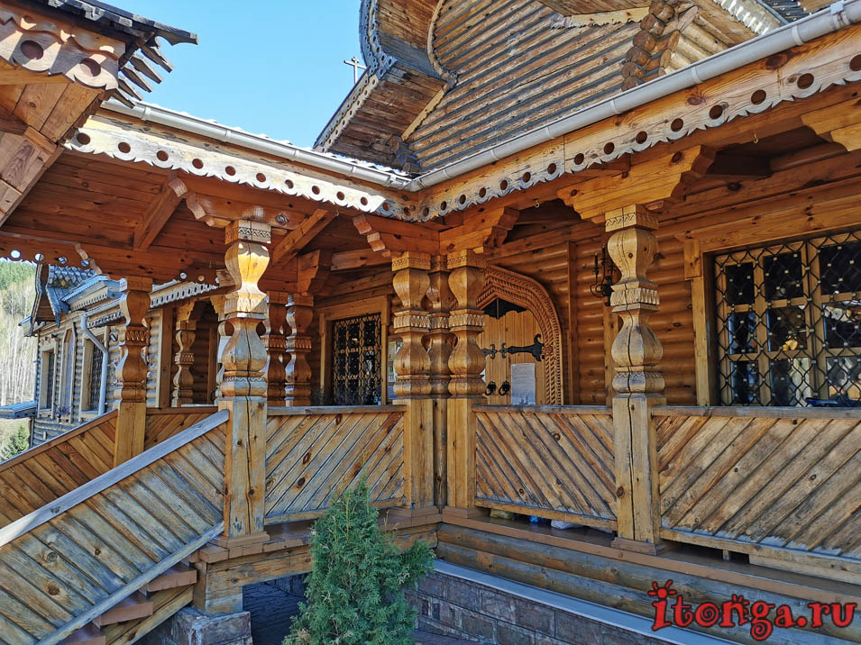 архитектура, храм иоанна воина в новокузнецке