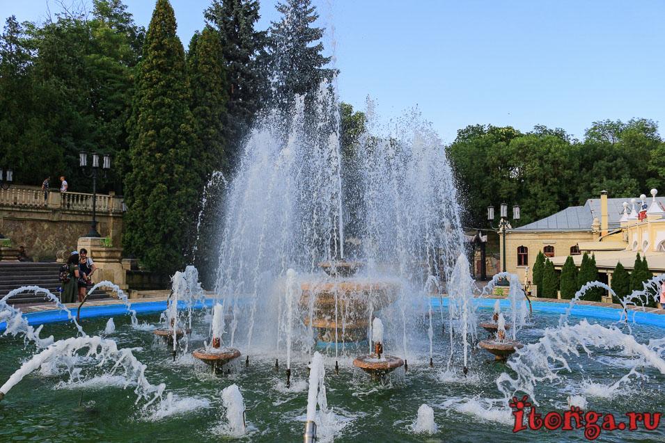 фонтан, Ессентуки, курортный парк