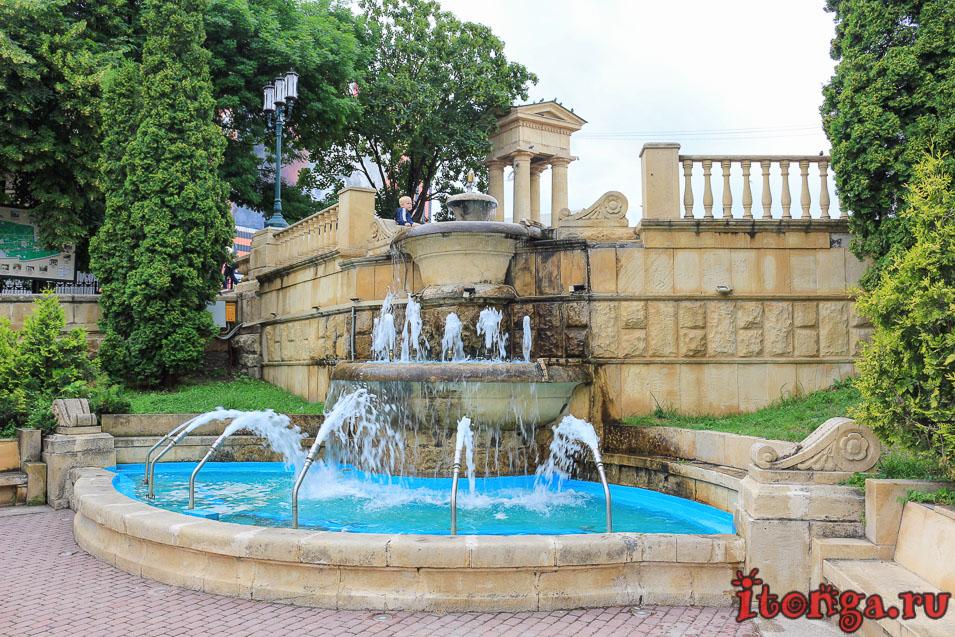 центральный парк, Ессентуки, фонтаны