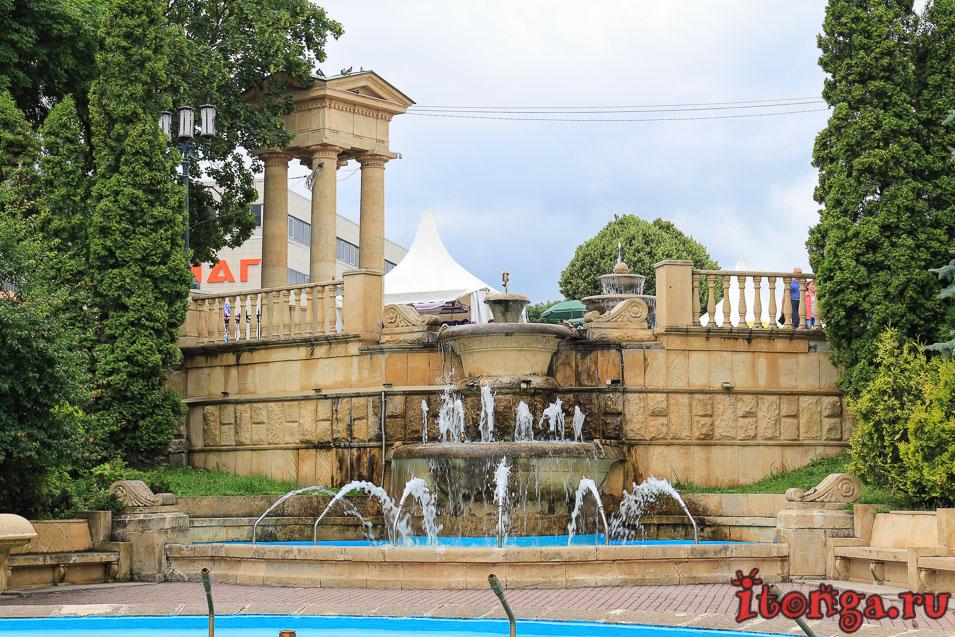 фонтан в парке Ессентуков