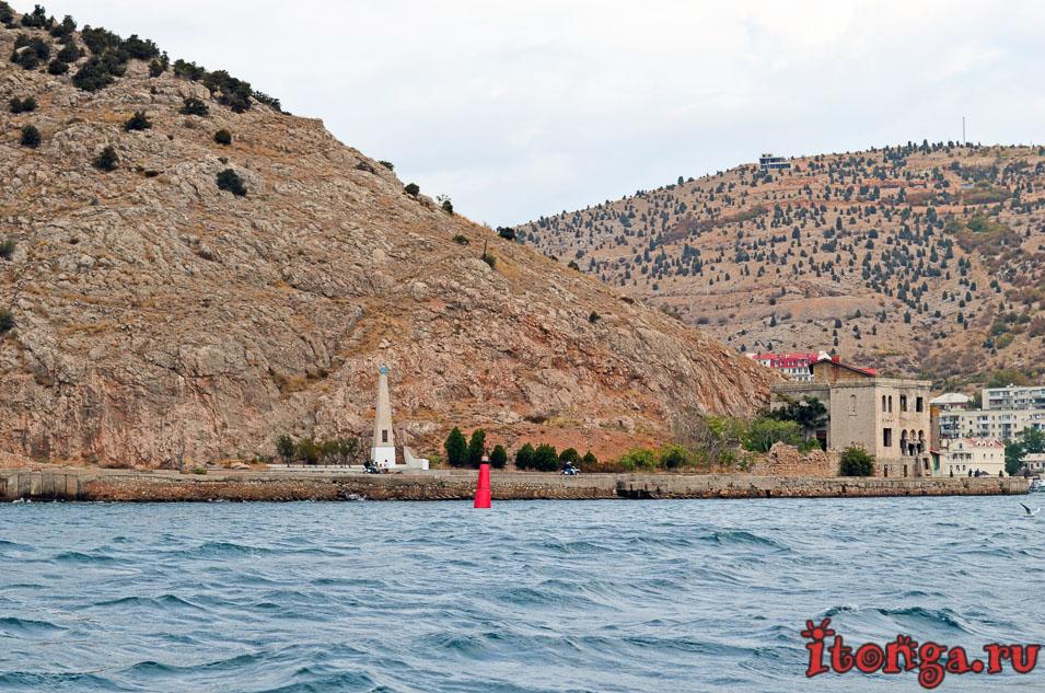 морская прогулка в балаклаве, балаклавская бухта, крым