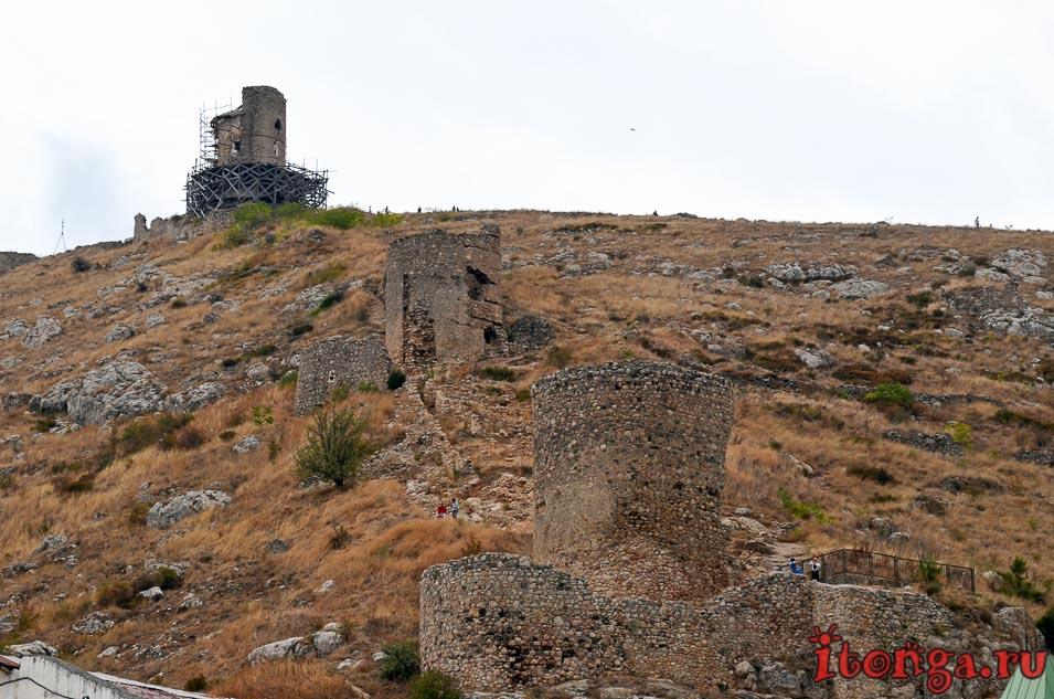 крепость чембало, балаклава, крым