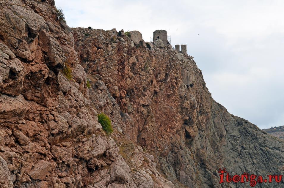 морская прогулка в балаклаве, крепость чембало, крым