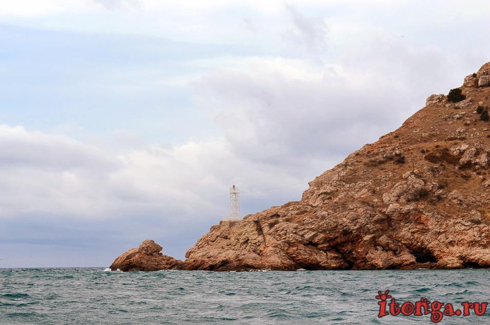 морская прогулка в балаклаве, балаклавская бухта, мыс курона