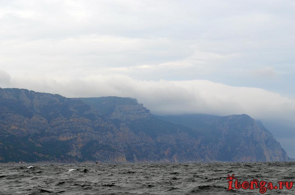 морская прогулка в балаклаве, крым, море, горы