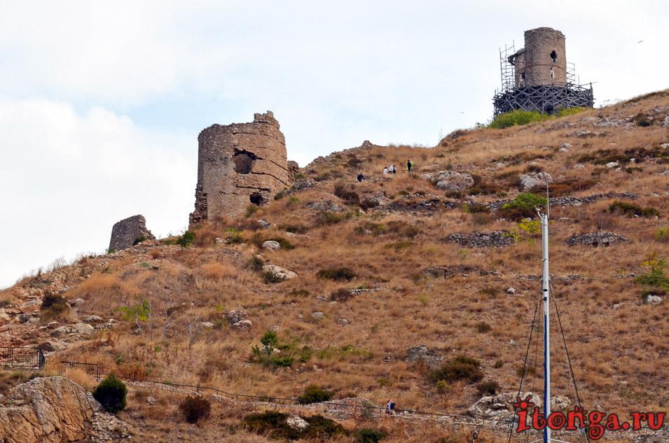 крепость чембало в балаклаве, крым, достопримечательности