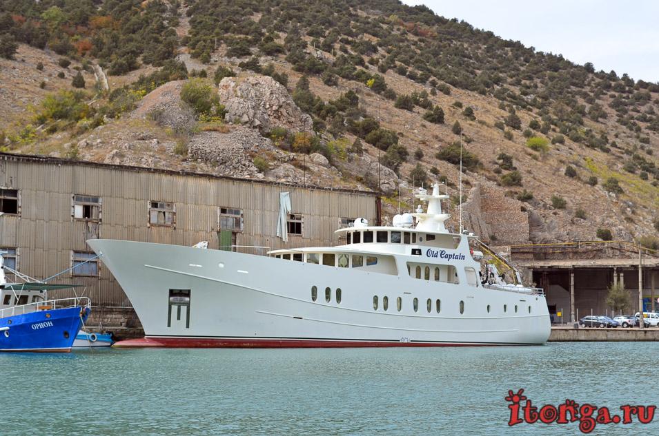 морская прогулка в балаклаве, яхты, бухта