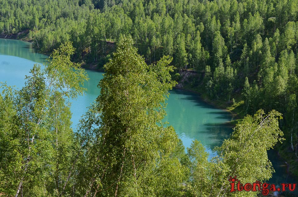 поселок темиртау, кемеровская область, озеро