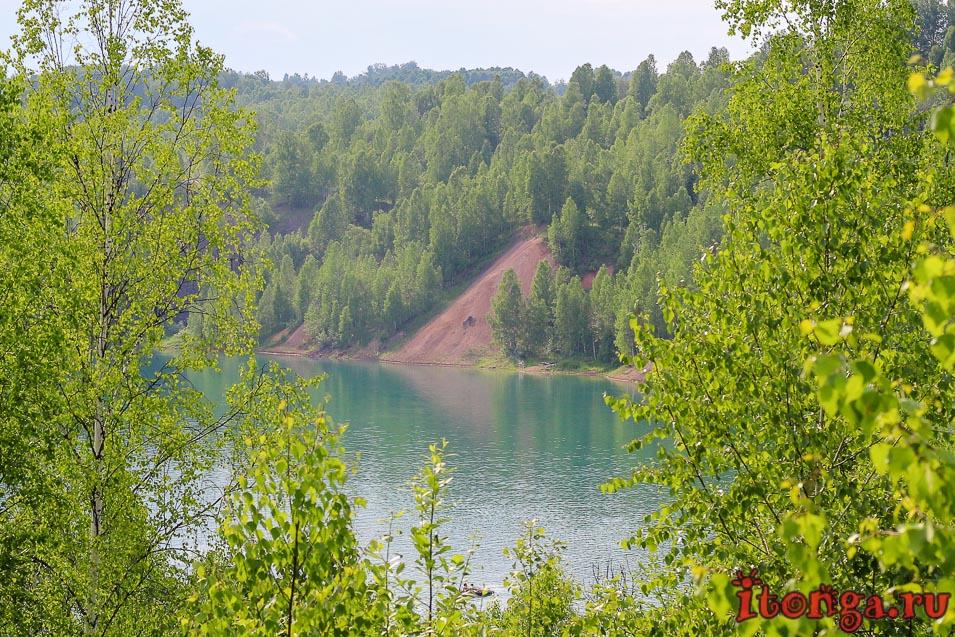 голубое озеро темиртау, кемеровская область