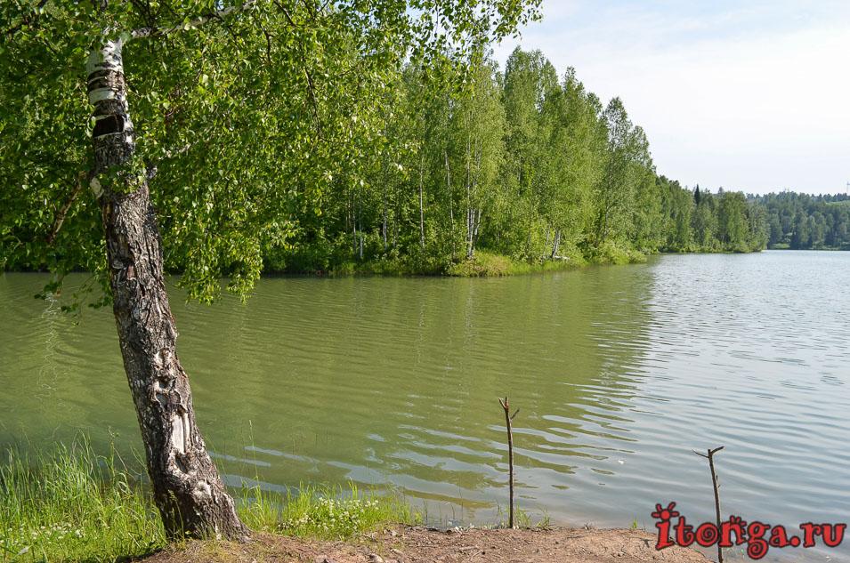 озеро, темиртау, отдых