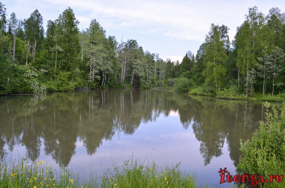 темиртау, кемеровская область, голубые озера