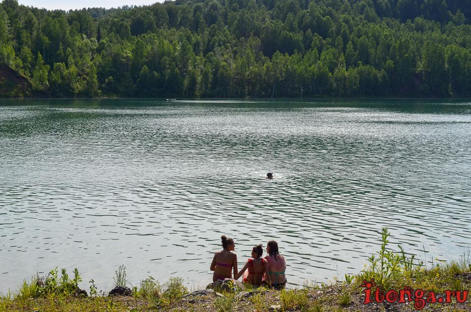 озеро, темиртау, кемеровская область, база отдыха